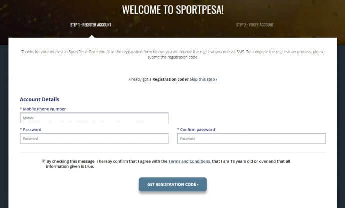 How to Get Started at SportPesa?