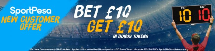 Welcome Bonus with SportPesa Bonus Code