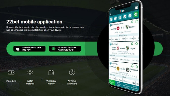 22bet Kenya App