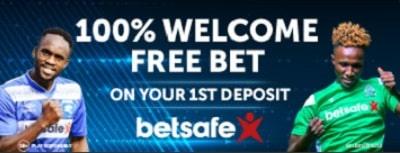 Betsafe Welcome Free Bet